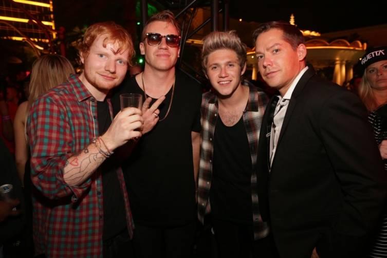 09.20_Ed Sheeran, Macklemore, Niall Horan and Jesse Waits_XS