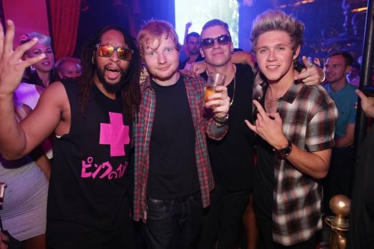 09.20_Lil Jon, Ed Sheeran, Macklemore and Niall Horan_XS