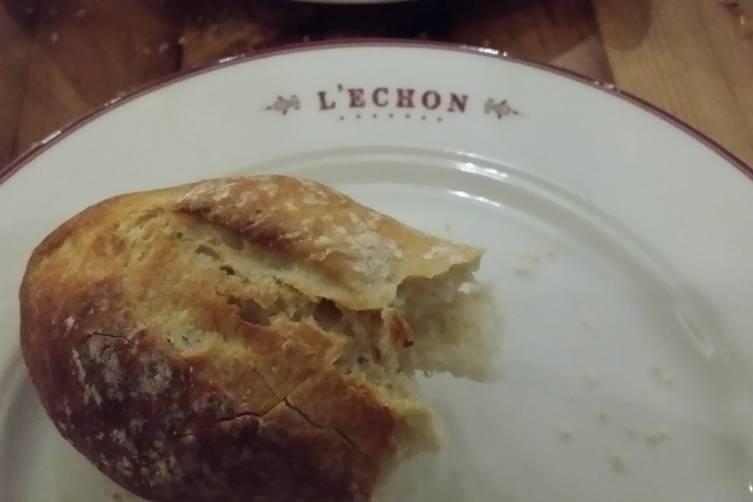 Fresh crusty French bread
