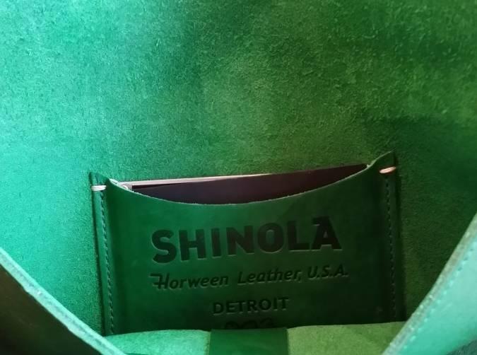 Shinola Pouch