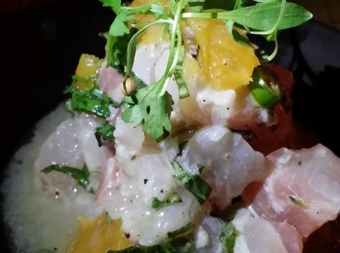 Swardfish Ceviche