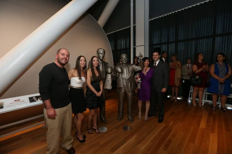 49ers CEO Jed York with Denise DeBartolo York and family