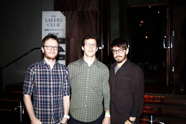Andy Samberg and friends at SLS Las Vegas (Photo Courtesy of Rich Mbariket )