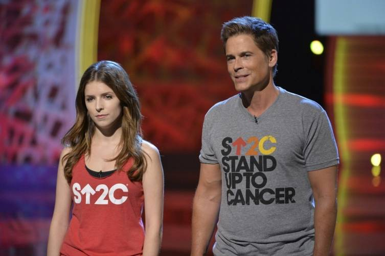 Anna Kendrick and Rob Lowe