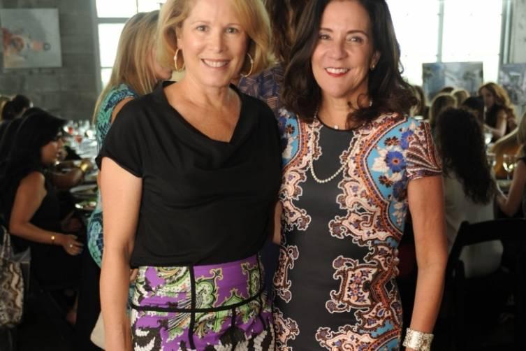 Barbara Hevia & Linda Levy Goldberg