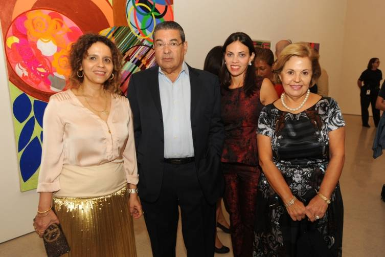 Beatriz Milhazes, Humberto Ugobono, Vanessa Ugobono, & Rosalia Ugobono