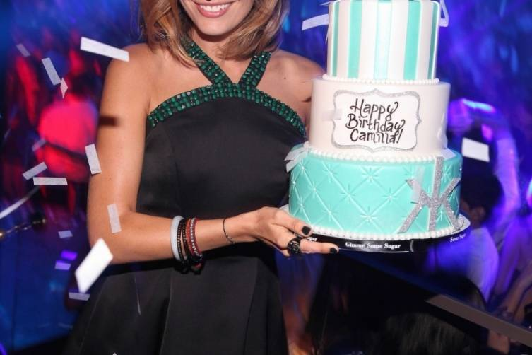 Camilla Belle_Birthday Cake at Hakkasan LV Nightclub