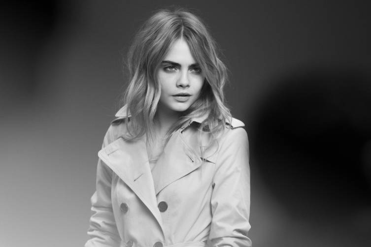 Cara Delevingne for My Burberry