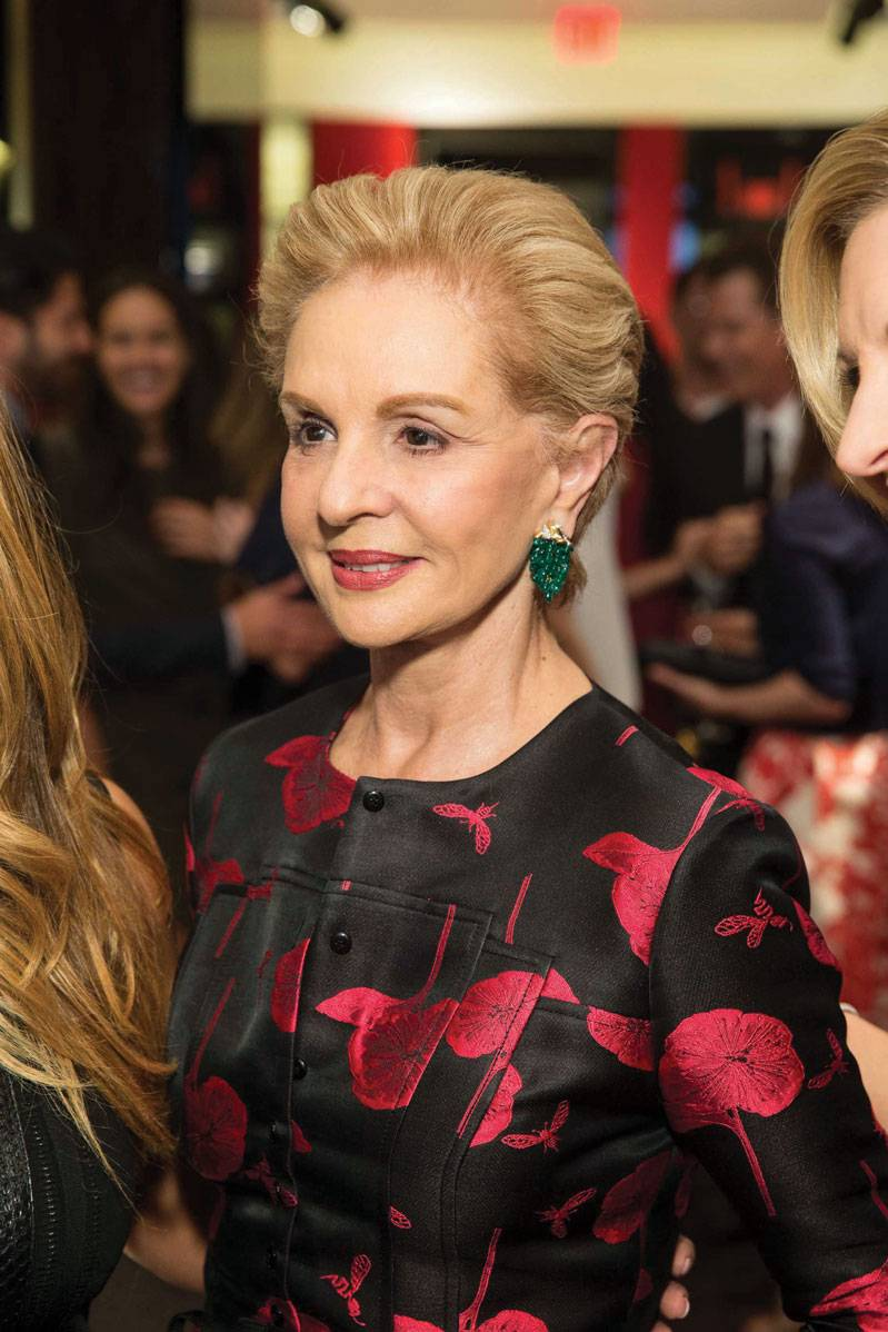Carolina Herrera at opening of  CH Carolina Herrera in San Francisco