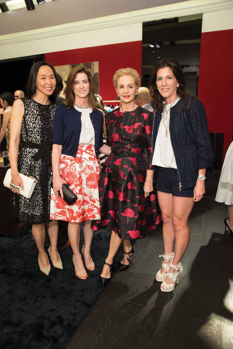 Dr. Carolyn Chang, Carol Bunnie, Carolina Herrera and Sloan Barnett