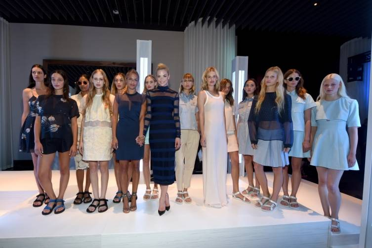 Charlotte Ronson presents looks from her SpringSummer 2015 collection with an exclusive runway show at Delano Las Vegas' grand opening, 9.18.14