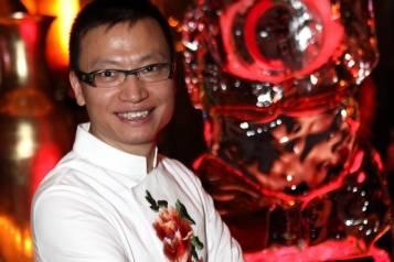 Chef Tony Hu at Lao Sze Chuan at Palms