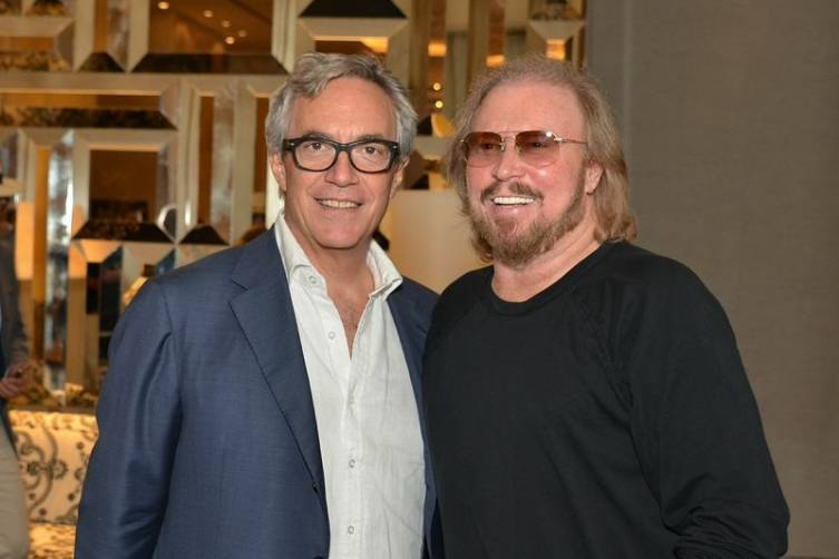 Dr Riccordi and Barry Gibb