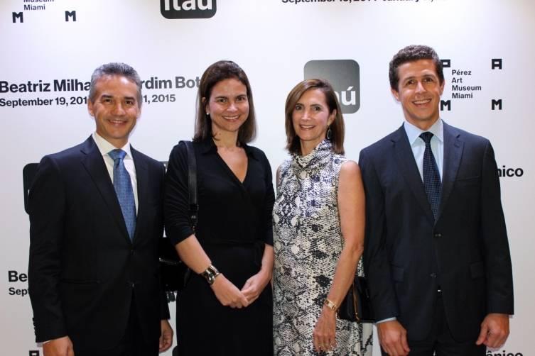 Ericson Reis, Ana Dutra, Frances Sevilla-Sacasa, Fabio Cristino - Photo Emmanuel Genao
