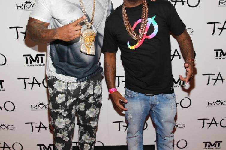 Flo Rida and P-Reala at TAO