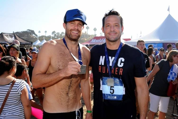 Geoff Stults and Josh Hopkins