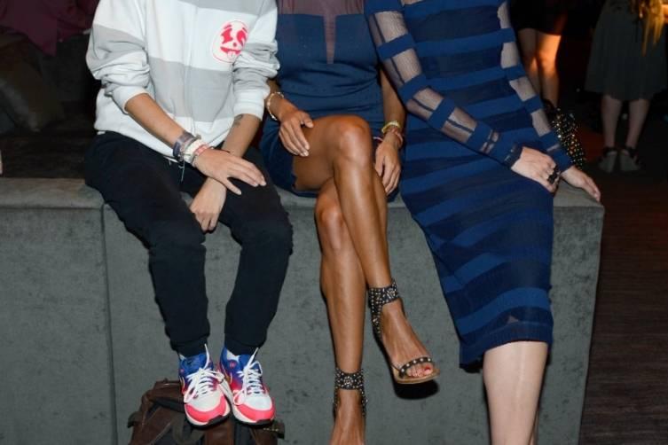 Jaime King, Samantha and Charlotte Ronson enjoy Franklin Lounge at Delano Las Vegas' grand opening, 9.18.14