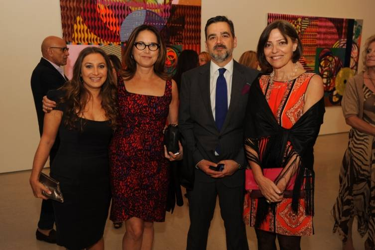 Jessica Katz, Vivian Pfeiffer, Virgilio Garza & Candida Sodre of Christie's