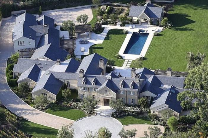 A peek inside kim kardashian and kanye west 39 s 20 million mansion for Michigan design center home tour