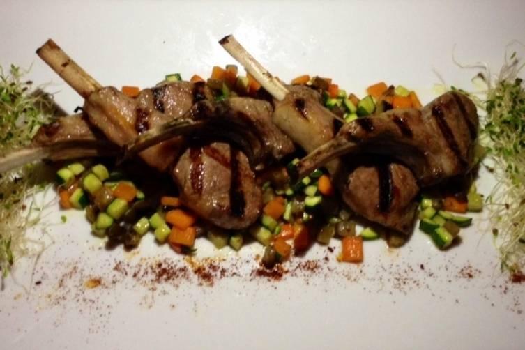 Lamb Chops at Petit