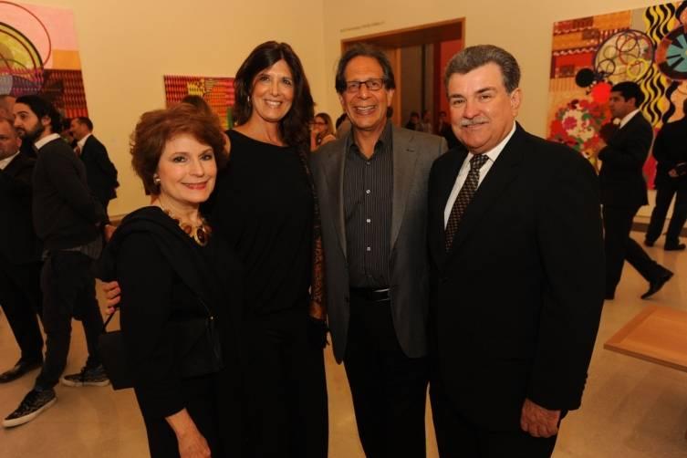 Terry Vento, Patricia and Dennis Klein with Peter MacNamara