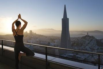 Indian Summer yoga retreat Mandarin Oriental, San Francisco