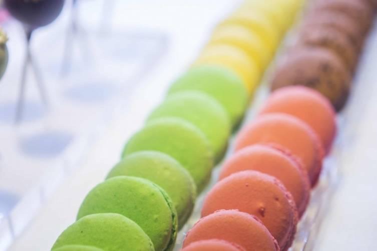 Macarons at Chez Bon Bon