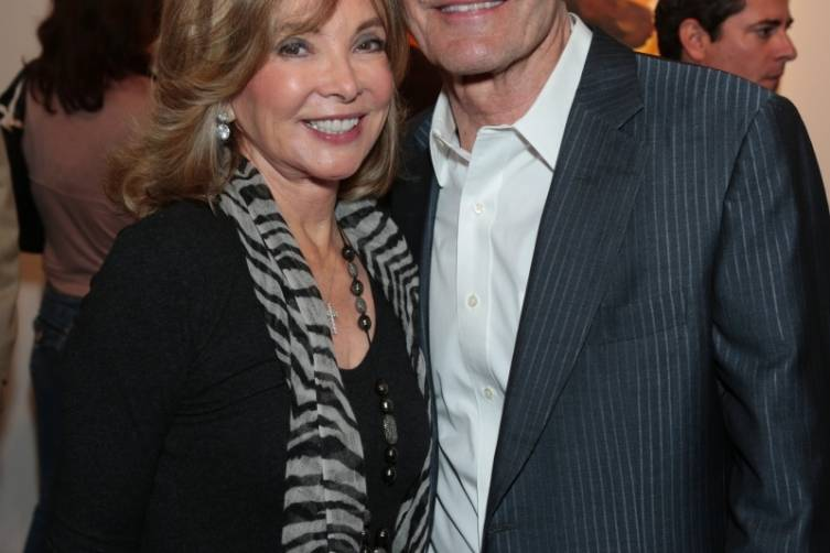 Margie Perenchio and Alan Horn