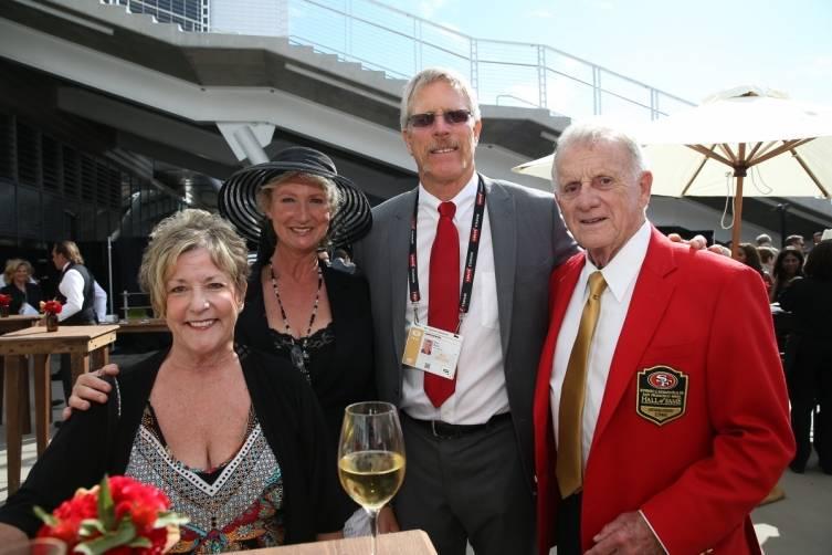 John McVay, Dan Bunz and guests