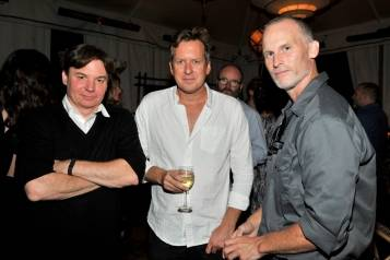 Mike Myers, Doug Aitken, and Matthew Barney