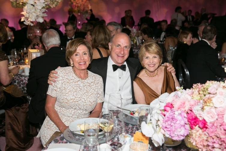 Nancy Pelosi, Bill Fisher, Dagmar Dolby