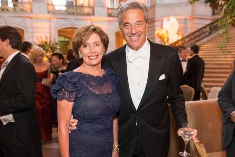 Nancy and Paul Pelosi