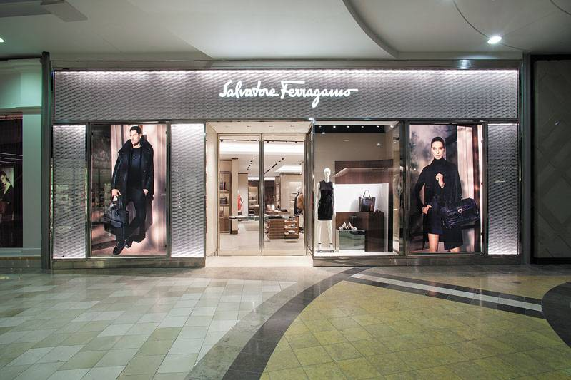 Salvatore Ferragamo Wesield Valley Fair