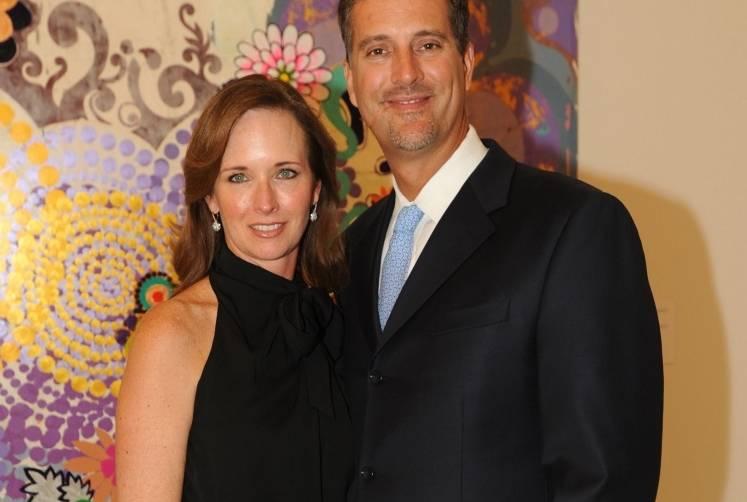 Susan Pullin & Michael Kurtz of GRAFF Diamonds at PAMM's celebration of Beatriz Milhazes: Jardim Botânico