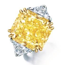 Mayors Fancy Yellow diamond