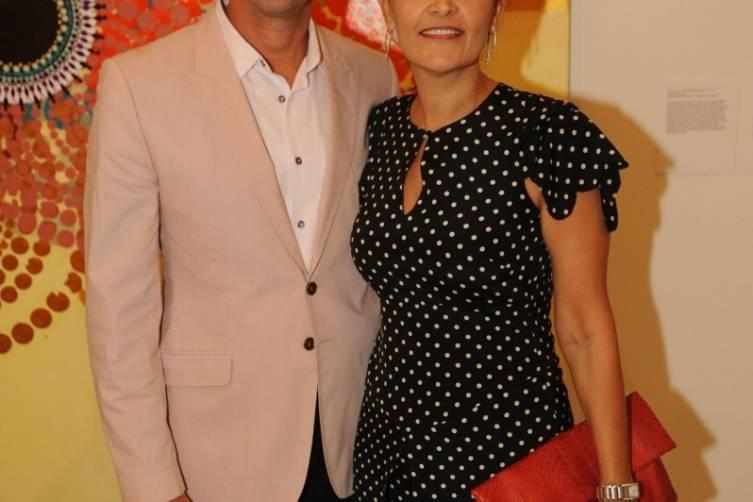 Walid & Susie Wahab at PAMM's celebration of Beatriz Milhazes: Jardim Botânico