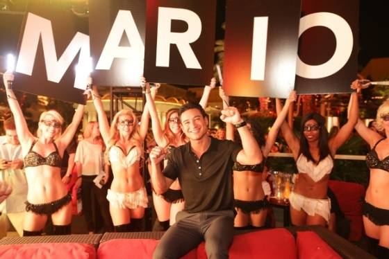 10.03.14 Mario Lopez celebrates birthday and launch of his new book at XS Nightclub