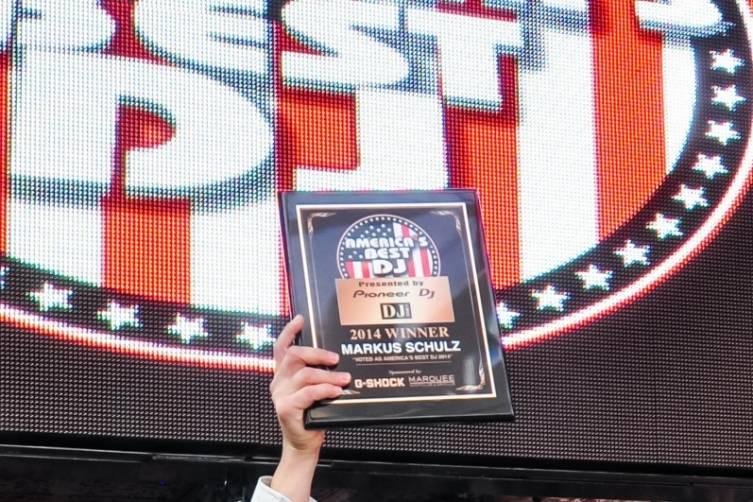 2014 America's Best DJ Markus Schulz at Marquee