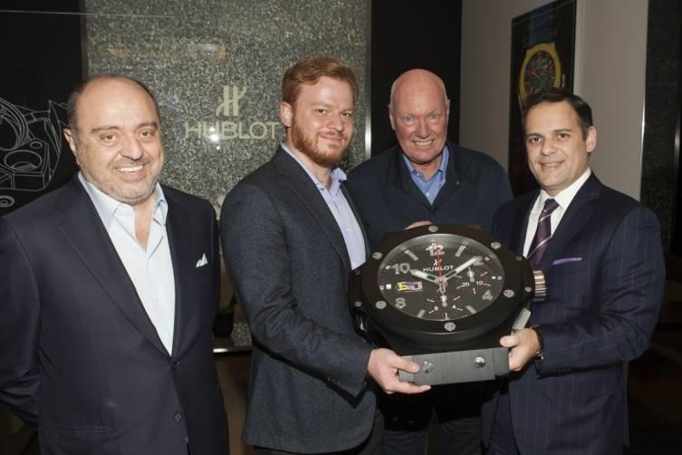 John Simonian, Greg Simonian, Jean-Claude Biver & Mr Fenech