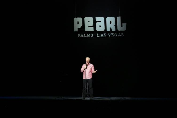 Bill Maher at the Pearl at the Palms. Photos: Edison Graff