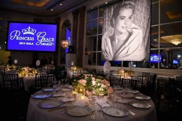 Atmosphere in The Ballroom at the 2014 Princess Grace Awards Gala