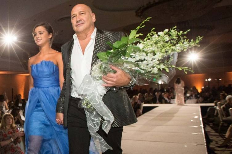 Brooke Christian and Carmen Marc Valvo