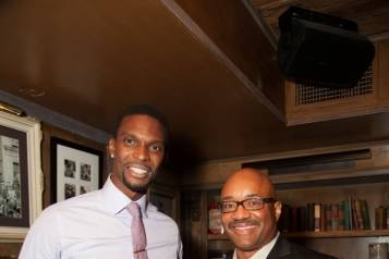Chris Bosh and Rodney Williams