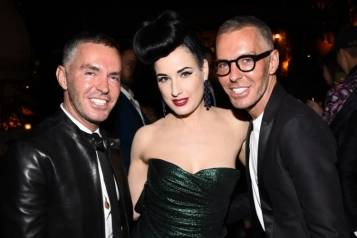Dean Caten, Dita von Teese and Dan Caten