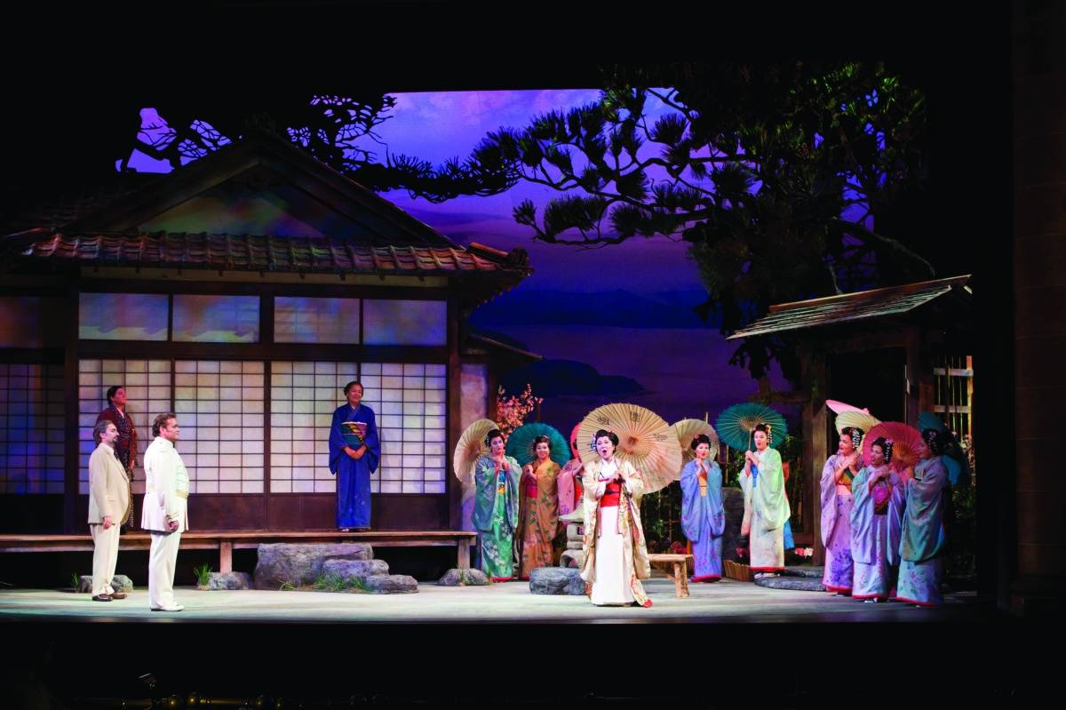 Madama Butterfly and its Original Sketches Have Landed at The ...