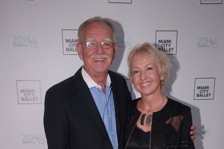Frank & Gabrielle Armstrong, Sponsors of the Miami City Ballet Opening Night Reception