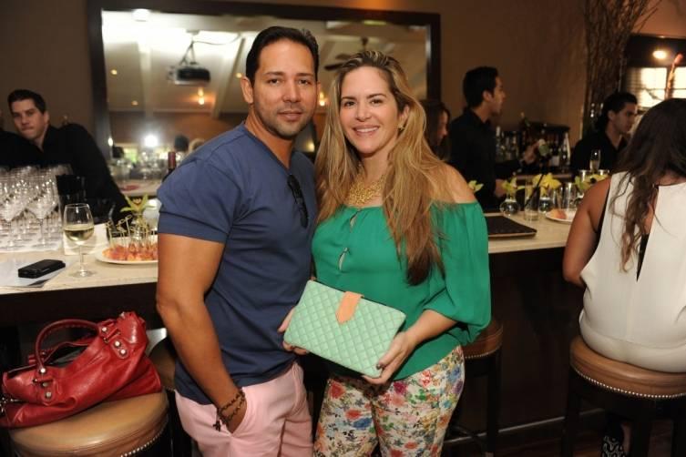 Freddy Bolivar & Alessandra Cisneros de Bolivar