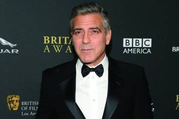 George Clooney, credit BAFTA: Michael Kovak