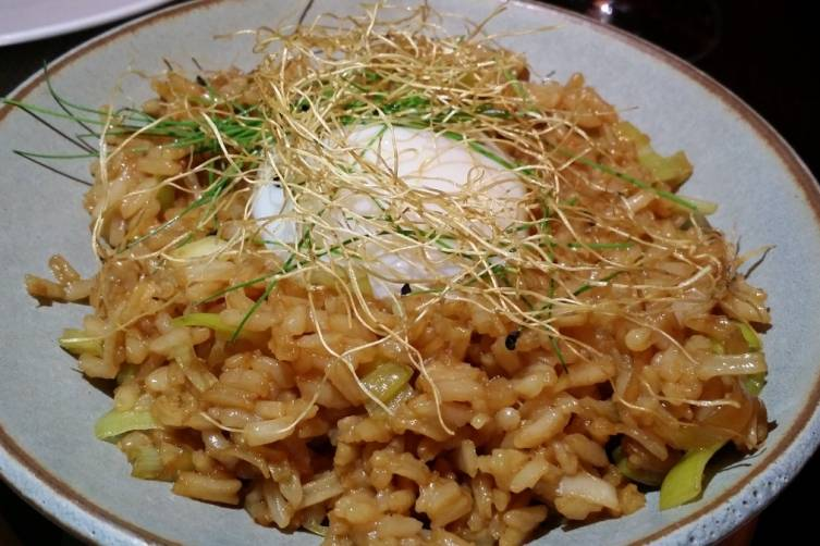 Ginger Fried Rice with Egg at J&G Grill