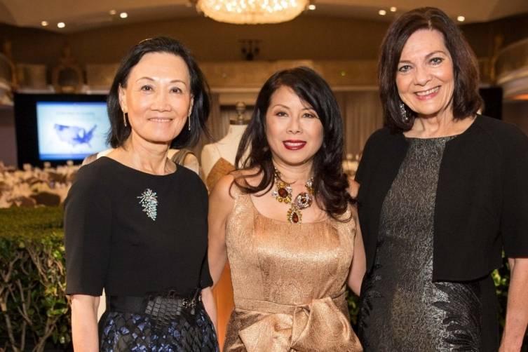 Iris Chan, Sharon Seto and Pamela Culp